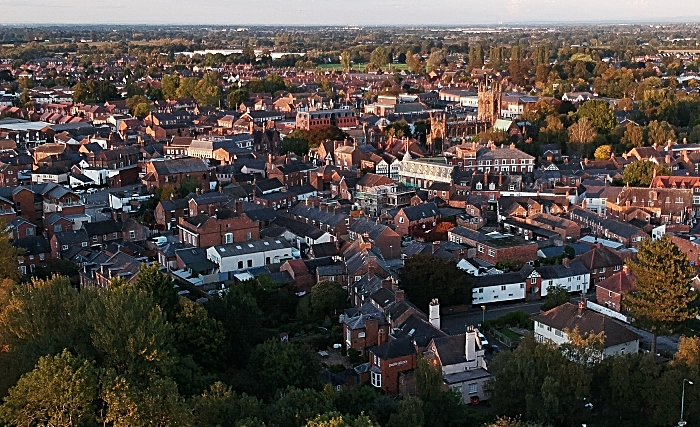 census - Nantwich town centre October 2020