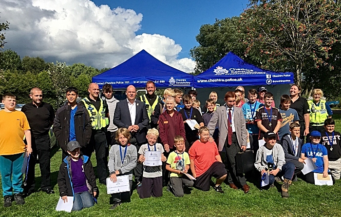 Nantwich youth fishing competition