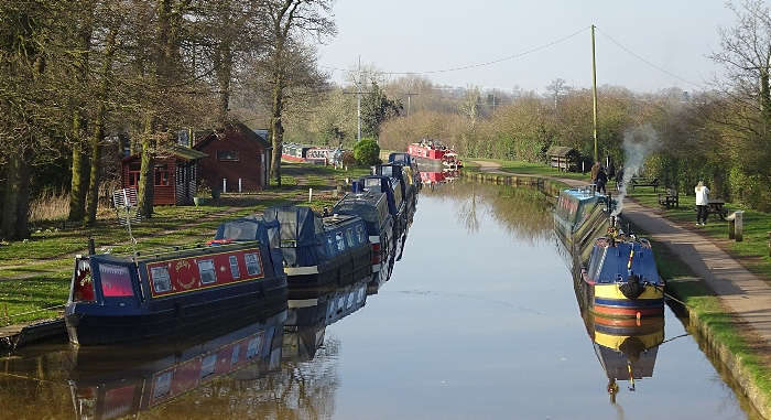 Narrowboats on Shropshire Union Canal near Nantwich (3) (1)