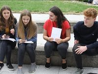 Brine Leas and Malbank students in Nantwich celebrate GCSE results