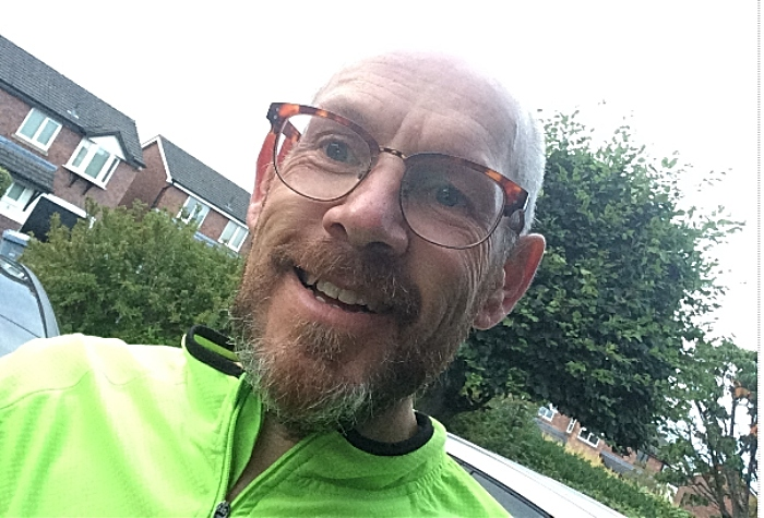 Neil Tinsley - Christie Hospital cancer volunteer cycling challenge