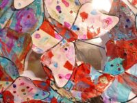 """""""Celebrating Creativity"""" exhibition of pupil artwork at Nantwich Museum"""