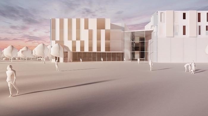 New Leighton Hospital Entrance (1)