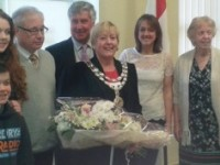 New Nantwich Mayor Christine Farrall sworn in at Civic Hall ceremony