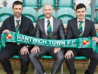 "Nantwich Town boss Phil Parkinson ""pleased"" with squad"