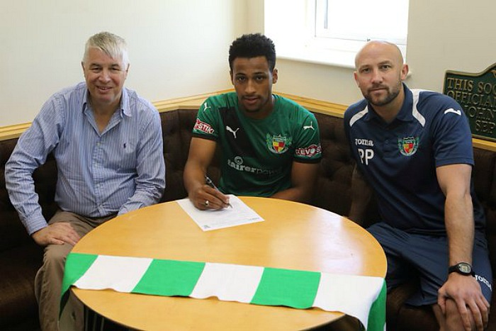 New Nantwich Town signing Ibou Touray