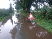 Councillors demand action on blocked gullies amid flood problems