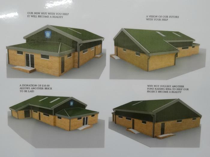 New Scout hut diagrams for Wistaston