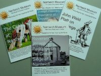 New local history booklets on display at Nantwich Museum