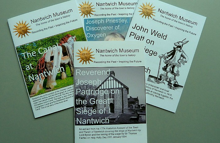 New additions to the Nantwich Museum range of historical booklets
