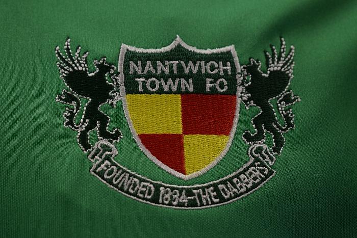 Warrington + FA Cup - Nantwich Town FC logo