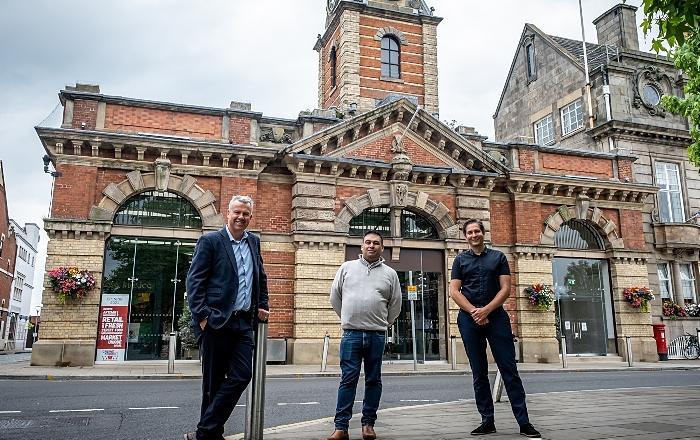 New-look Crewe Market Hall