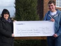 Weston student's Christmas lights raise £5,720 for hospice