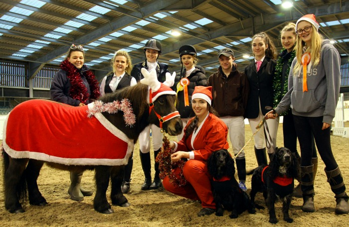 Horse Students At Reaseheath College Stage Christmas Show