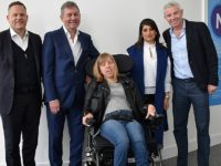 Disabled South Cheshire teen boosted by wheelchair donation