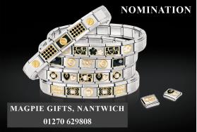 Nomination jewellery at Magpie Gifts draft advert 250x125