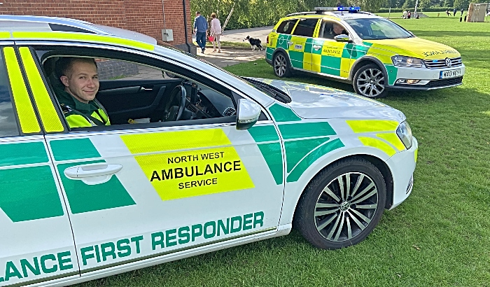 Clap - North West Ambulance Service - First Responders on Barony Park (1)
