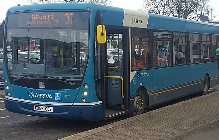 Number 37 bus