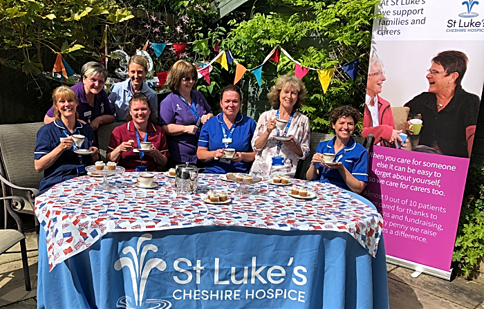 Nurses 30th birthday - St Luke's Hospice Cheshire