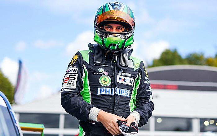 Oliphant racing driver
