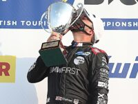 Tarporley racing driver Tom Oliphant earns maiden victory in BTCC