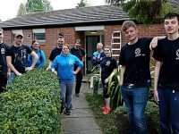 Young Nantwich volunteers renovate emergency housing