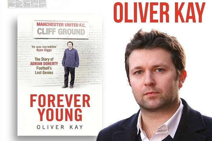 Oliver Kay, The Times football writer, Nantwich Bookshop