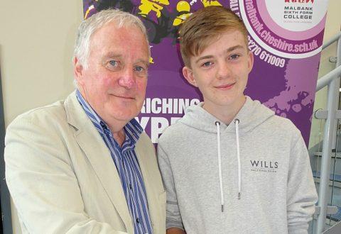 Malbank School students enjoy GCSE grades success