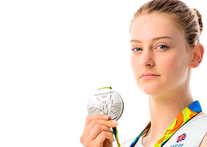 Olympic Silver Medallist Bryony Page