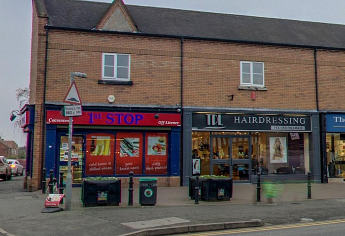 One Stop shop on Beam Street, teenagers street gang attack - pic by Google Street Maps