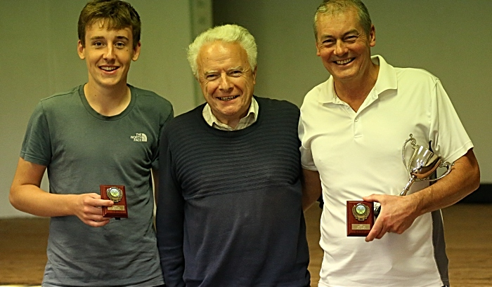 Open Doubles Final winners - George Raiswell and Nick Green receive trophies from Bill Heath (1) (1)