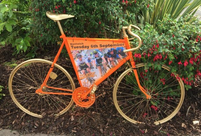 Orange bikes, Tour of Britain
