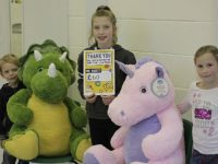 Young Stapeley pupil raises Children in Need cash with toy name competition