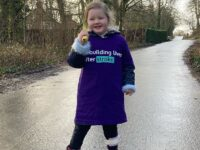 Four-year-old Nantwich stroke survivor's 26-mile fundraiser