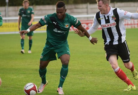 Abadaki hat-trick earns Nantwich Town victory at Whitby