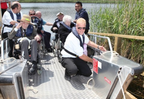 Overwater Wheelyboat Project set to launch in Nantwich