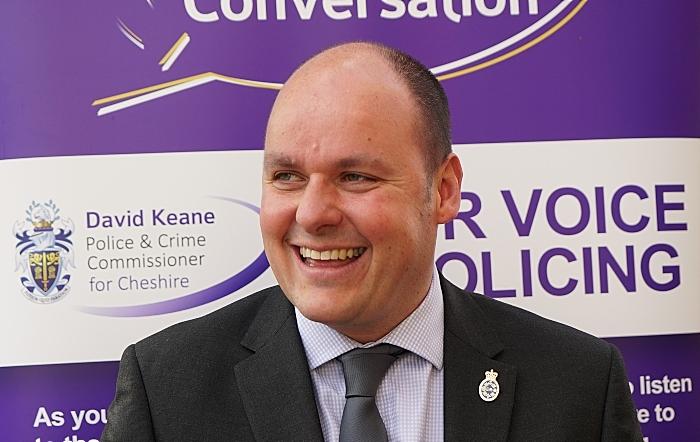 grants - PCC for Cheshire David Keane