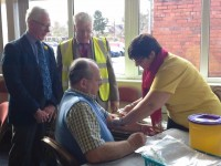 Almost 300 men attend Nantwich PSA testing day