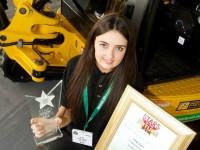 Nantwich female student, 18, wins UK construction plant award