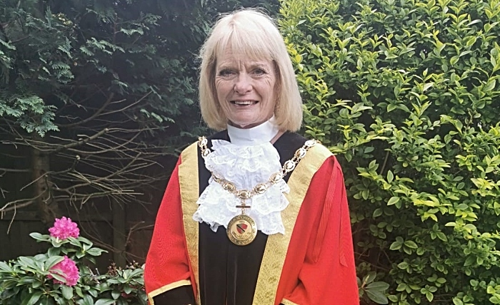 Pam Kirkham - Mayor of Nantwich