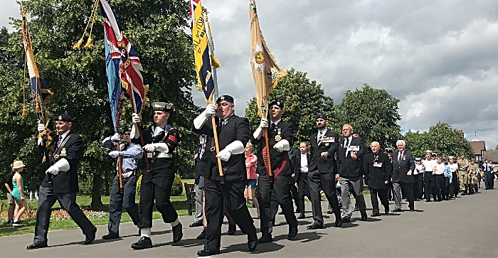Parade - armed forces day crewe
