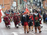 Thousands watch Battle of Nantwich re-enacted on Holly Holy Day