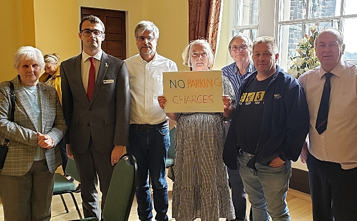 Parking charges - councillors voted against plan