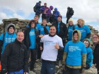 Nantwich Watts Mortgage employees scale new heights for local charities