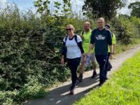 Sponsored walk raises funds for Nantwich Town Wolves