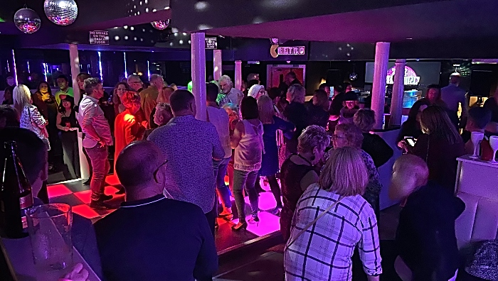 Participants enjoy 'The Cheshire Cat Discotheque - The Early Years' (1)