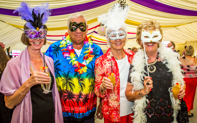Party Gras St Luke's Hospice 1