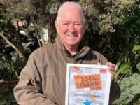 "Nantwich Litter action leader named ""Local Legend"" by The Cat FM"
