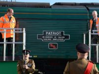 Freightliner renames Cheshire locomotive 'Patriot' to honour WW1 dead