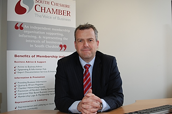 Paul Colman south cheshire chamber of commerce